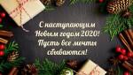 C наступающим Новым 2020 Годом